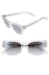 Women's Bobbi Brown 'The Ellie' 51Mm Sunglasses Crystal