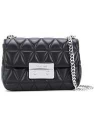 Michael Michael Kors Chain Strap Shoulder Bag Women Lamb Skin One Size Black
