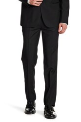Paisley And Gray Black Woven Flat Front Tux Trouser 30 34 Inseam