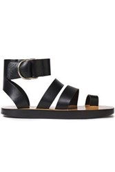 Iro Woman Baby Leather Sandals Black
