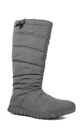 Bogs Puffy Insulated Waterproof Boot Dark Grey