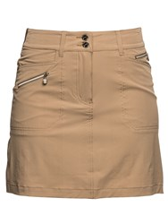 Daily Sports Miracle Skort Brown