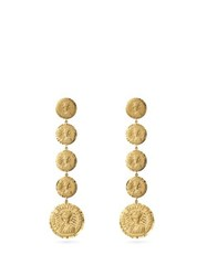 Anissa Kermiche Louise D'infinie 18Kt Gold Coin Earrings Gold