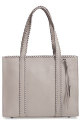 Mackage Sela Leather Tote Grey Mineral