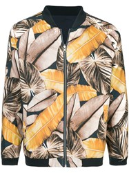 The Upside Printed Bomber Jacket Multicolour