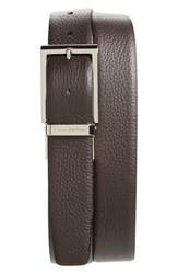 Men's Ermenegildo Zegna 'Sartoria' Reversible Leather Belt