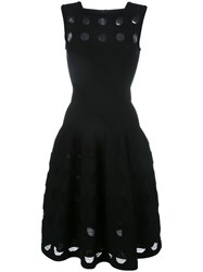 Azzedine Alaia Flared Dress Black