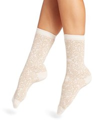 Natori Legwear Gobi Crew Socks Deep Plum Dark Taupe Winter White Black
