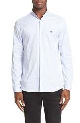 The Kooples Men's Piped Collar Oxford Shirt