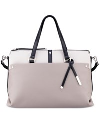Nine West Pockets A Plenty Medium Satchel Grey Multi