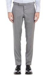 Thom Browne Twill Trousers Grey