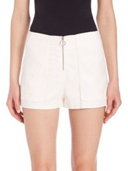 Ramy Brook Emerson Shorts White