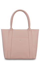 Vessel Signature 2.0 Faux Leather Medium Tote Pink Rose Pink