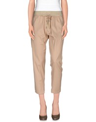 Cristinaeffe Trousers Casual Trousers Women Beige