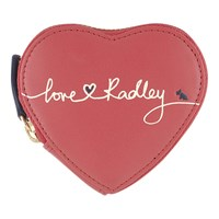 Radley Love Leather Heart Coin Purse Pink