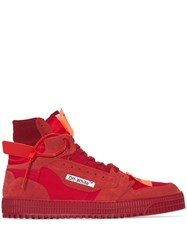 Off White Court 3.0 Sneakers Red
