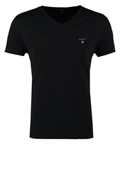 Gant Fitted Basic Tshirt Black