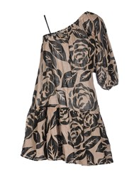 Fairly Dresses Short Dresses Women Beige