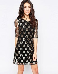 Sugarhill Boutique Neomi Dress Black Gold