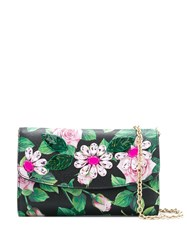 Dolce And Gabbana Tropical Rose Crystal Embellished Clutch 60