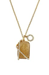 Women's Louise Et Cie Stone Pendant Necklace