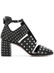 Red Valentino Studded Heel Pumps Black
