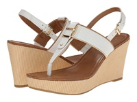 Tommy Hilfiger Maree White Oro Women's Wedge Shoes