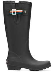Paul Smith Ps By Classic Stripe Boots Black