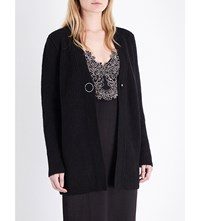 Sandro Vasco Knitted Cardigan Noir