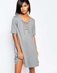 Vila Tie Up Shift Dress Mgm