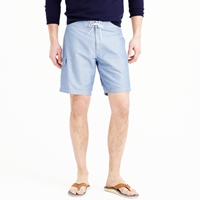 J.Crew 9' Board Short In Chambray