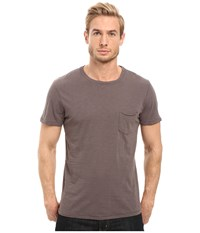 Joe's Jeans Chase Raw Edge Short Sleeve Crew Rolling Stone Men's Short Sleeve Pullover Tan