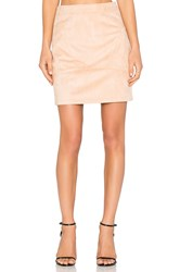 Minty Meets Munt In Control Skirt Blush