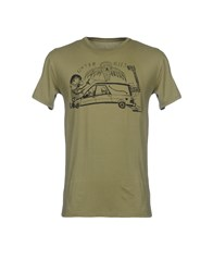 Blood Is The New Black T Shirts Military Green