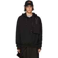 D By D Black Outpocket Hoodie