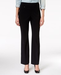 Jm Collection Pull On Straight Leg Pants Only At Macy's
