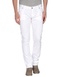 Richmond Denim Casual Pants White