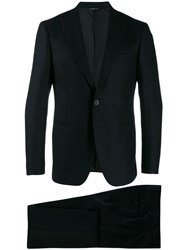 Tonello Minimal Trouser Suit Black