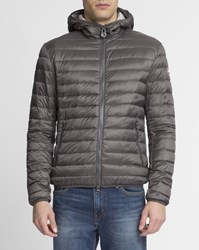 Colmar Grey Light 1277 Hooded Down Jacket
