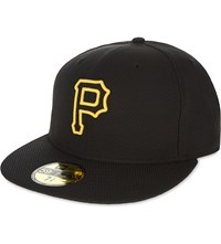 New Era 59Fifty Pittsburgh Pirates Fitted Cap Black