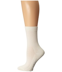 Falke Family Crew Off White Hose Beige