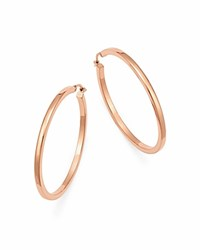 Bloomingdale's 14K Rose Gold Square Tube Hoop Earrings