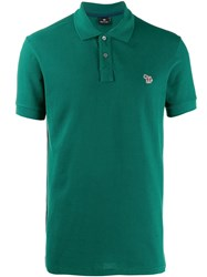 Paul Smith Ps Short Sleeved Polo Shirt Green