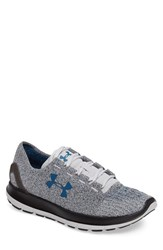 Under Armour Men's 'Speedform Slingride Tri' Running Shoe Glacier Gray Black Peacock