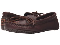 Manitobah Mukluks Canoe Moccasin Grain Leather Cocoa Women's Boots Brown