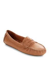 Gentle Souls Portobello Leather Loafers Medium Brown