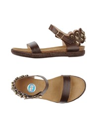 Ras Footwear Sandals Women Dark Brown