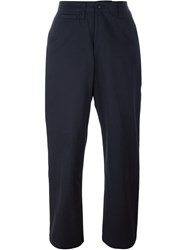 E. Tautz 'Field' Trousers Blue