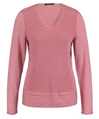 Olsen V Neck Jumper Blush