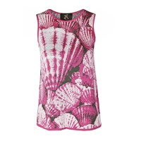 Ekaterina Kukhareva Seashell Top Pink Purple